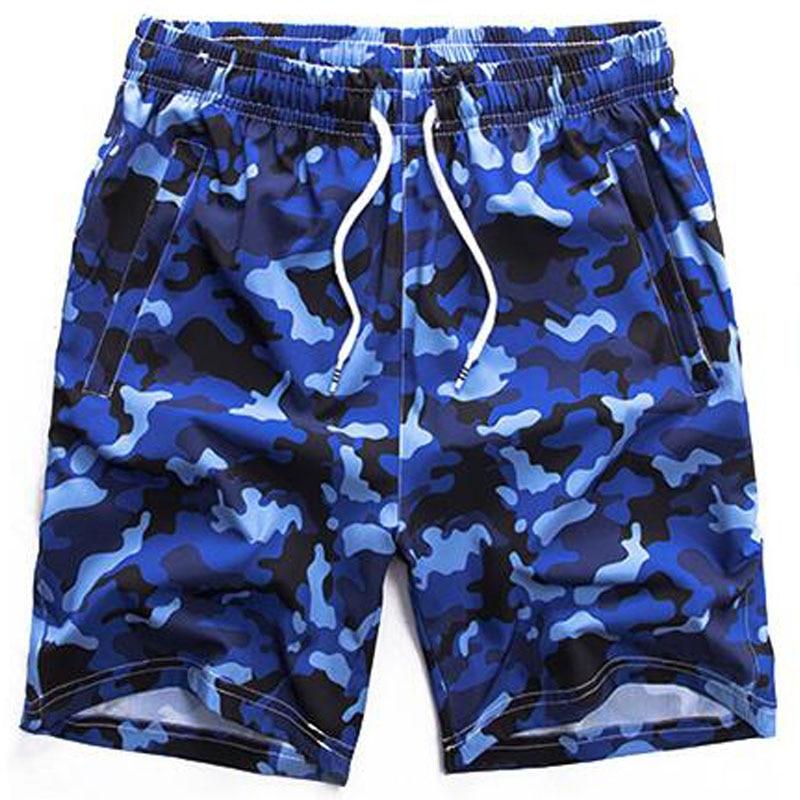 Mens Shorts Summer Beach Zipper Secure Pocket Quick Dry Camouflage Fashion 8xl 6xl 7xl 5xl Large Size Male Bermuda Short Homme