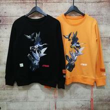 New Heron Preston Hoodies Men Women Stranger Things Magician Embroidery CTNNB Sweatshirt Streetwear Hoodie