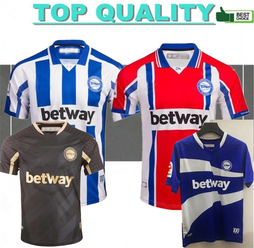 Esportes alavés futebol jerseys 20 21 alaves 100th centenário camisa de futebol sobrinho joselu pere pons futebol shirtsl|Camisetas de corrida|   -