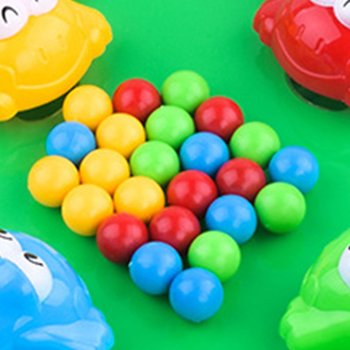 Funny Hungry Frogs Educational Toy Creative Desktop Toy Interactive Game Beads Feeding Toy Child Gift  Puzzle toys for children shark bite game funny toys desktop fishing toys kids family interactive toys board game