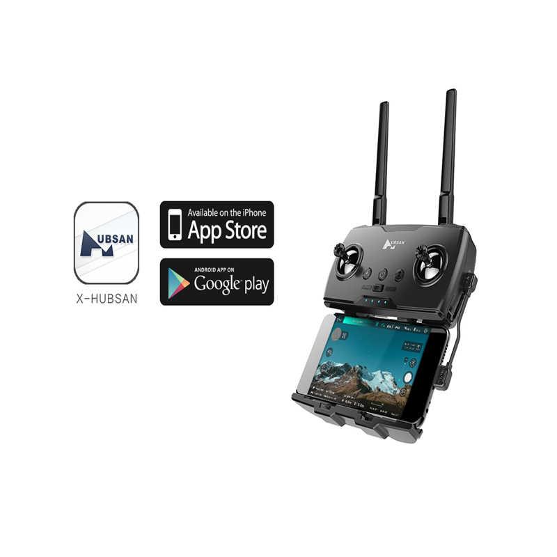 طائرة رباعية بدون طيار أصلية من Hubsan H117s 1 كجم نظام تحديد المواقع 5 جيجا واي فاي FPV مع كاميرا 4K UHD 3 محاور جيمبال المجال بانيراماس RC
