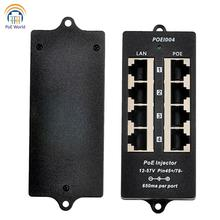 Poe-Patch-Panel Poe-Injector Access-Point-Use Non-Poe-Switch 4-Ip-Camera for Wifi