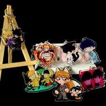 Anime mob psycho 100 kageyama shigeo arataka acrílico figura chaveiro decoração chaveiro coleção modelo brinquedo boneca cosplay