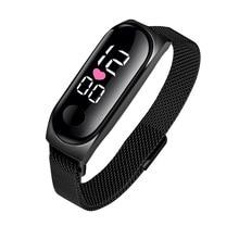 Women Sport LED Watches Men's Digital Watch Female Watch Fitness Silicone Electronic Watch Male Clock reloj hombre hodinky