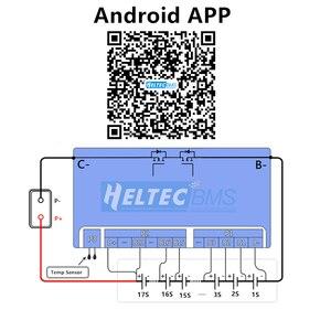 Image 3 - Active Equalizer Balancer Vs Bms สมาร์ท BMS 13S 14S 15S 16S 17S  20S 60A 120A RS485 APP Lifepo4 Li Ion 48V 52V 60V