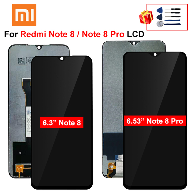 $ US $20.82 Original For Xiaomi Redmi Note 8 Pro LCD Note 8 Display Touch Screen Replacement Parts For Redmi Note 8 Pro LCD Screen