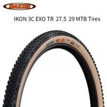 Maxxis – pneus sans chambre à air Ikon pour vélo, pliable, 27.5/29 pouces, 29 × 2.2, vtt, 3C EXO, protection XC
