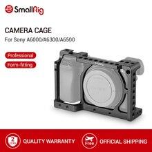 SmallRig kamera klatka dla Sony A6000/A6300/A6500 ILCE 6000/ILCE 6300/A6500/Nex 7 klatka ze stopu aluminium do montażu statywu Monitor 1661