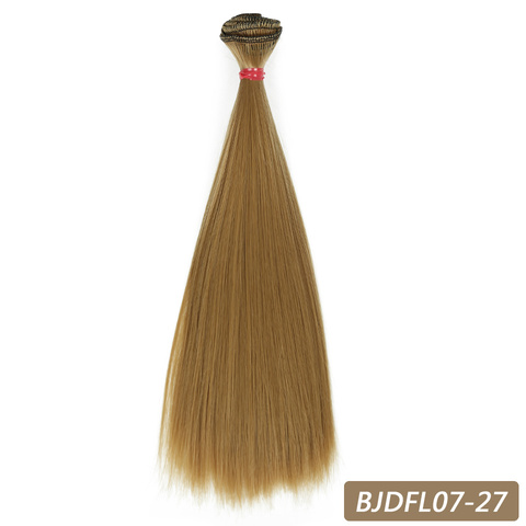 Bybrana 15cm*100cm and 25cm*100cm Long straight High Temperature Fiber BJD SD Wigs DIY hair for dolls Free shipping Islamabad