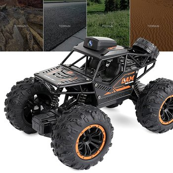 1 16 4wd rc cars alloy speed 2 4g radio control rc cars toys buggy 2017 high speed trucks off road trucks toys for children gift WIFI FPV Off-road Remote Control Car With 720P Camera RC Car Toys High Speed Video Off-road Trucks Toys For Kids Children