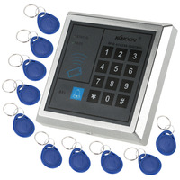 Door Entry Access Control System Kit Password Host Controller + Electric Magnetic Lock + Door Switch + Power Supply + RFID Cards