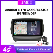 2din Android Multimedia Gps-Navigation Video-Player Car-Radio JMCQ Hyundai Tucson 2-Ix35
