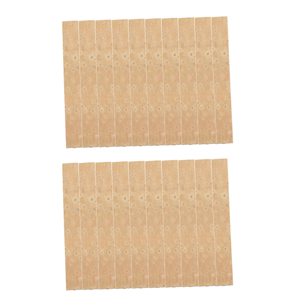 20pcs Natural Clarinet Neck Cork Sheet 4mm Clarinet Joint Cork Clarinet Neck