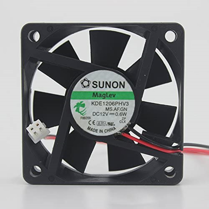 6015 12V0.6W KDE1206PHV3 fan 6months Warranty