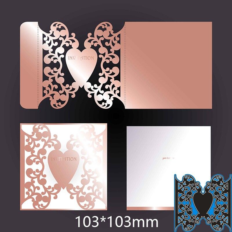 103*103mm Creative Lace Figure Metal Cutting Dies For Card DIY Scrapbooking Stencil Paper Craft Album Template Dies