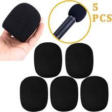 Чехол KEPHE для микрофона, пенопласт для ветрового стекла, 5 шт. в упаковке, ручной ветровой экран для микрофона (5 шт.)