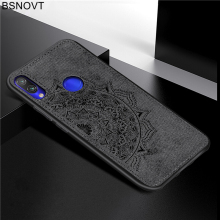 For Xiaomi Redmi Note 7 Case TPU Frame Cloth Fabric Anti-knock Phone Case For Xiaomi Redmi 6A Cover For Redmi 6 6A 6 Pro 8 Lite цена и фото