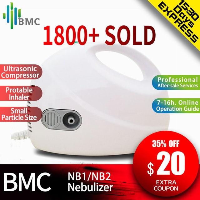 BMC Home Health Care Ultrasonic AtomizerแบบพกพาMini Nebulizerเด็กCareมือถือAirway Inhale Nebulizer