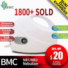 BMC בית בריאות קולי נייד מרסס מיני Nebulizer ילדי טיפול כף יד דרכי הנשימה לשאוף אדים Nebulizer