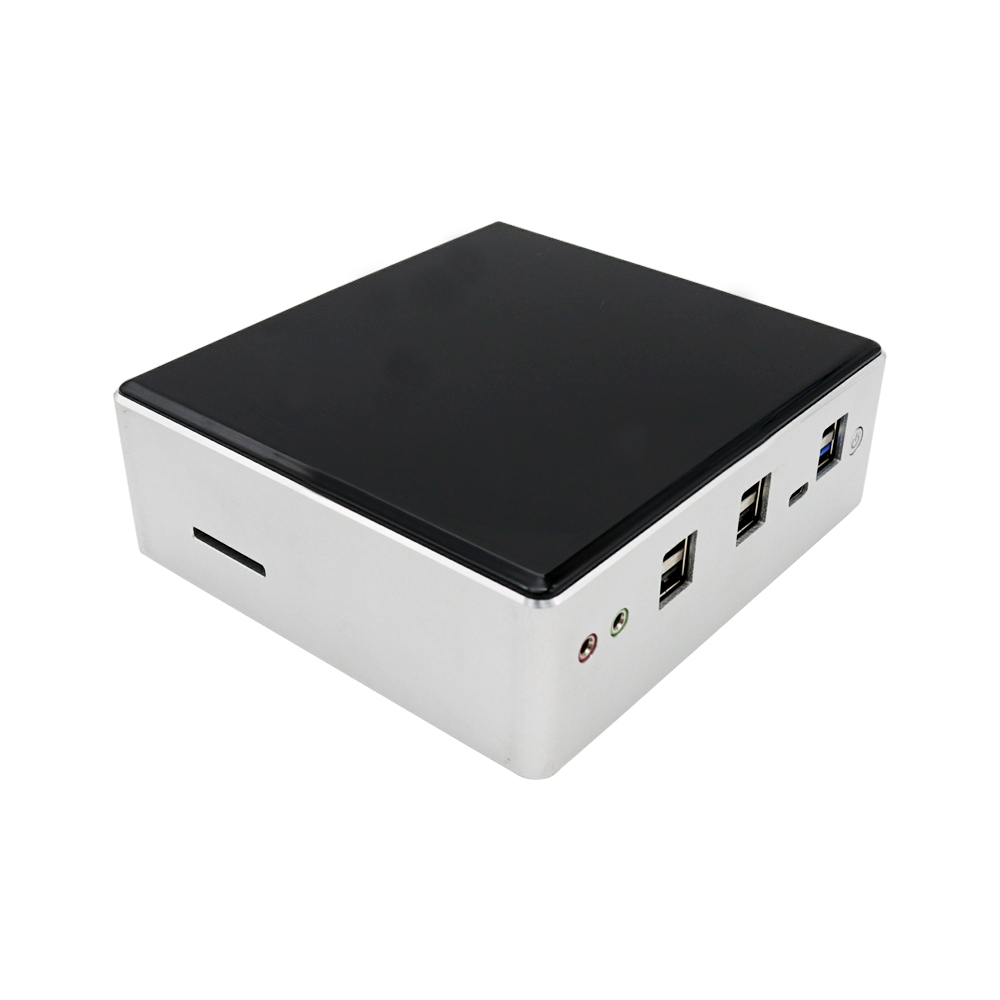 8th Gen Mini PC Intel i7 8550U i5 8250U 4 Core 8 Threads 2*DDR4 M.2 NVMe NUC Pocket Computer Win10 Pro Linux WiFi USB-C DP HDMI