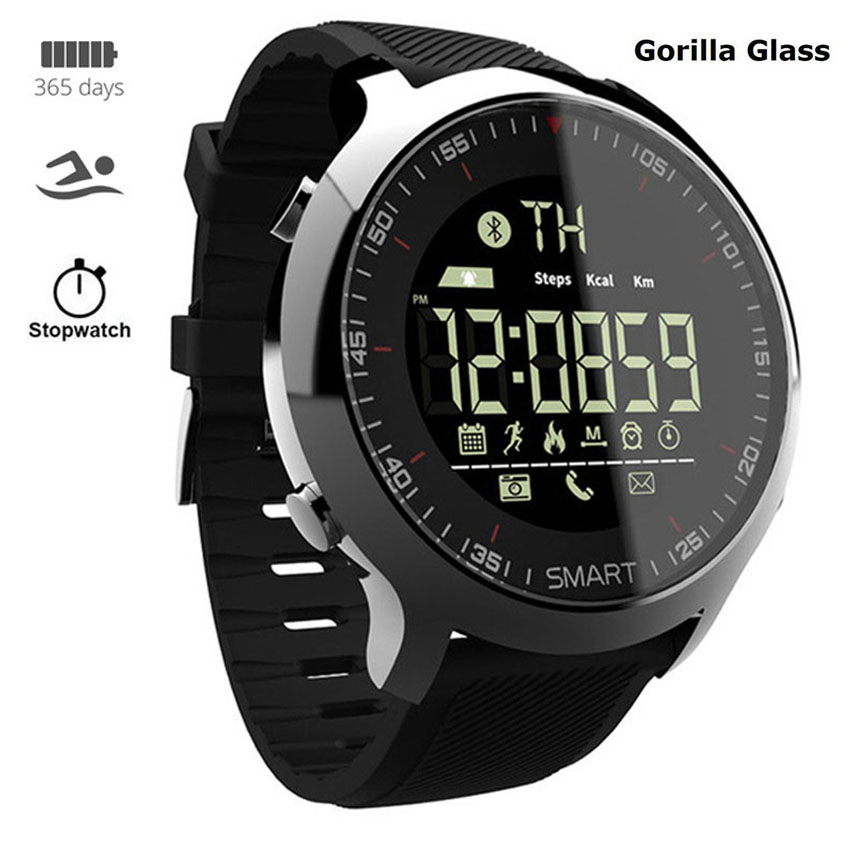 Gorilla Dive IP68 Steel <font><b>Smart</b></font> <font><b>Watch</b></font> Men Women Reloj Intelligent Sport Smartwatch Fit For Apple/Xiaomi/Huawei PK IWO 8/Q8 image