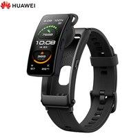 Huawei-pulsera inteligente TalkBand B6, reloj con pantalla táctil curvada 3D a Color, control del ritmo cardíaco, oxígeno en sangre y análisis del sueño