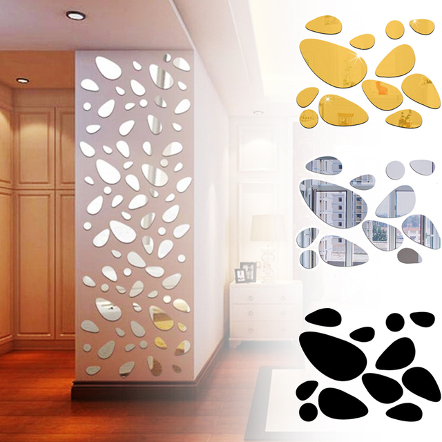 Mirror Pieces 12pcs 3D