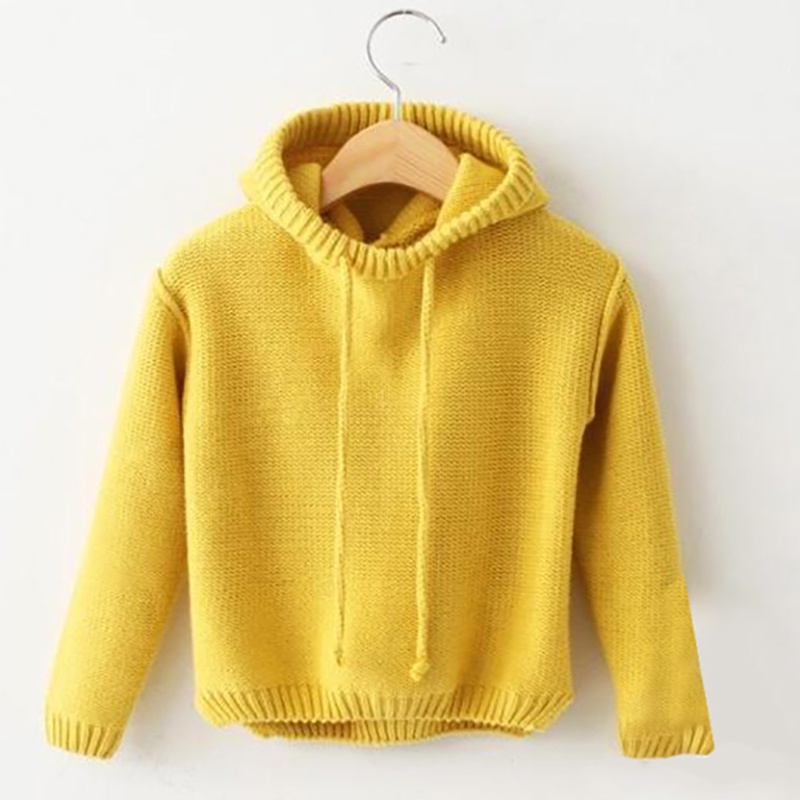 Spring Boys Girls Sweaters Kids Sweaters Boys Hoodie Outerwear Girls Knit Sweater Toddler Boys Girls Clothes Winter