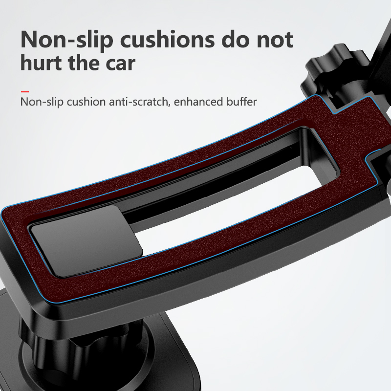 KUULAA Magnetic Car Phone Holder for iPhone Samsung Foldable Mount Mobile Phone Holder for Dashboard Paste Car Holder Stand in Phone Holders Stands from Cellphones Telecommunications