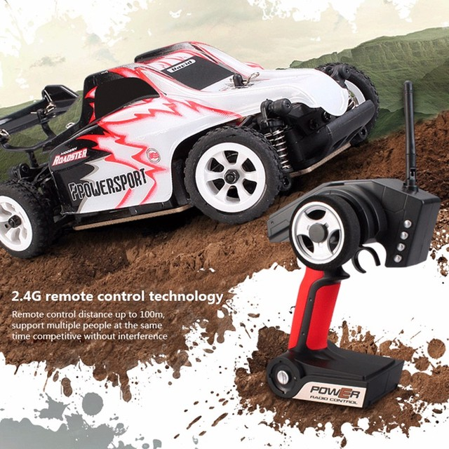 K999 rc car 1:28 off-road vehicle 2.4G electric four-wheel drive remote control car black gold chassis speed 30km RC off-road 5