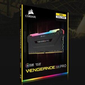 Image 2 - CORSAIR RGB פרו RAM בתיבה אחת Memoria מודול מחשב כפול ערוץ DDR4 PC4 תמיכה האם ddr4 3000 3200 3600MHZ שולחן העבודה
