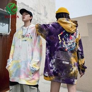 Image 1 - 2019 Dropshipping Sudadera con capucha Retro otoño invierno con capucha de camuflaje para hombre y mujer