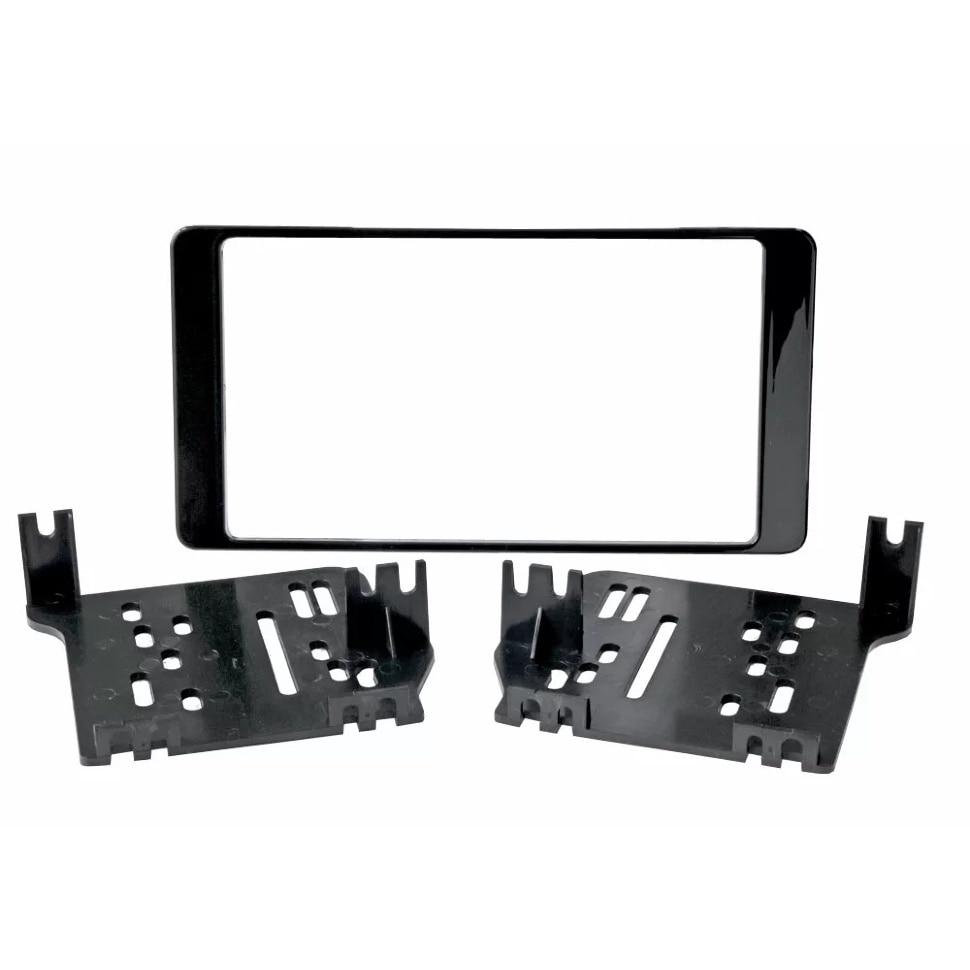Cadre d'adaptateur Double DIN panneau de carrosserie de protection de voiture pour MITSUBISHI Outlander 2012 + 2din (matériel) Incar RMS-N21