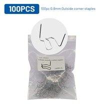 800/200/100X скобы для горячего степлера для бамперное крыло сварщик степлер Пластик сварка ремонт