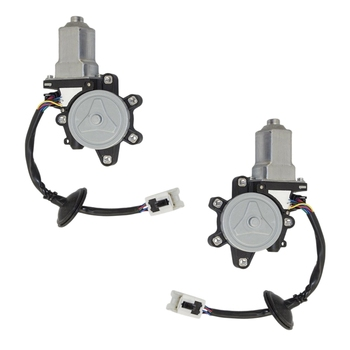 NEW-1Pair 80731CA00A Car Front Left Right Driver Side Power Window Motor for Nissan Murano 2003-2007 80730-CD00A