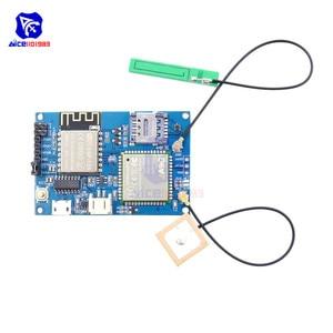 Image 3 - diymore ESP8266 ESP 12S CH340 A9G GSM GPRS + GPS IOT Node V1.0 Cellular Module Development Board Dual IPEX Antenna for Arduino