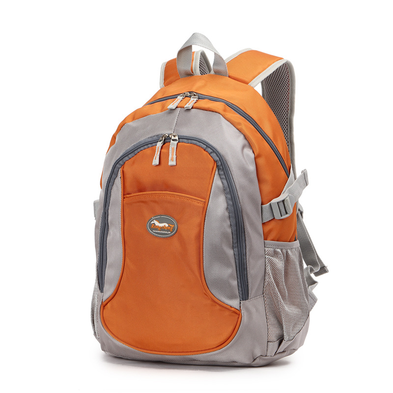 Currently Available Wholesale New Style Korean-style Casual Backpack Men And Women Primary School STUDENT'S School Bag Large Cap