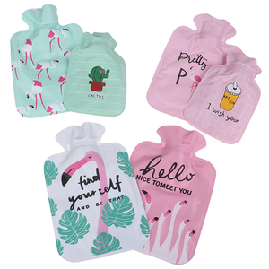 Mini Small Cartoon Portable Hot Water Bag Water Injection Storage Bag Hand Warm Water Bottle Cute Hot Water Bottles