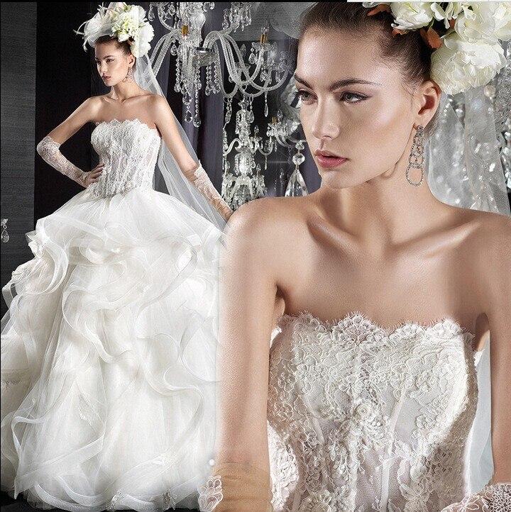 Hot Sale Free Shipping Fashionable Elegant Formal Romantic Long Bandage Off The Shoulder White Sleeveless Wedding Dresses