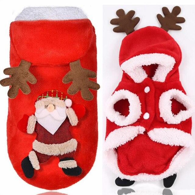 Winter Christmas Cat Costume  3