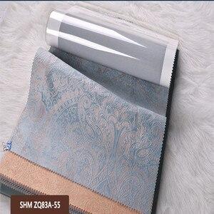 Image 5 - Роскошная Затемняющая тканевая панель, занавеска для гостиной, Солнцезащитная Затемняющая оконная занавеска для спальни, на заказ