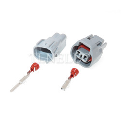 Sumitomo 6189-0031 2-контактный автомобильный разъем, штекер, противотуманный светильник, лампа, реверс, радарная вилка для Baojun Toyota RAV4