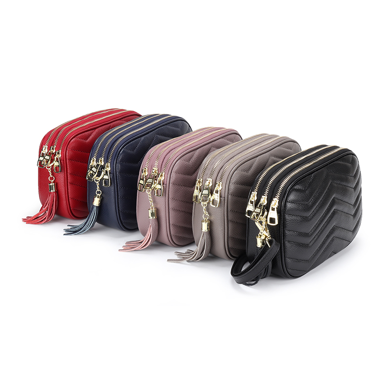 Luxurious Genuine Leather Women Messenger Bag Dropshipping сумки женские New Arrivals Large Capacity Cross-body Bag For Female