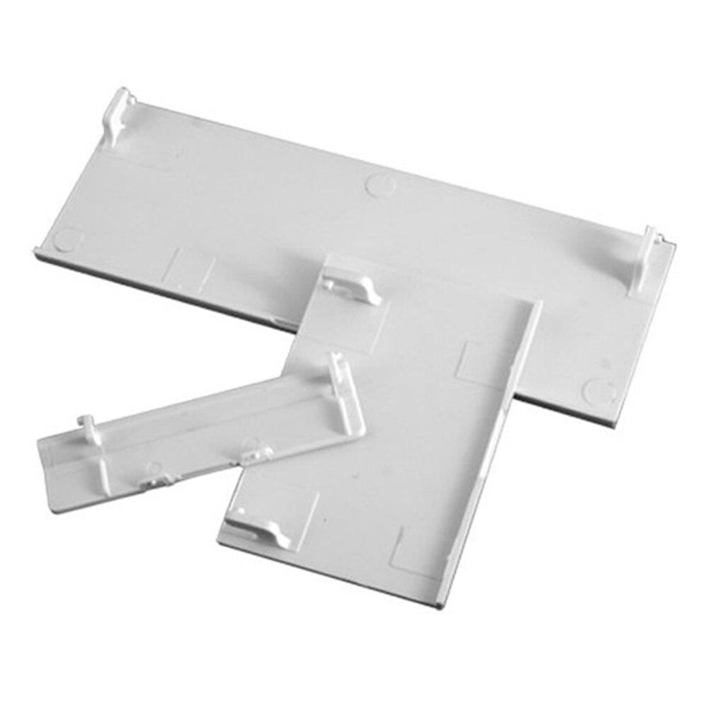 Remplacement Memeory carte porte batterie couverture de porte arrière 3 en 1 couvre porte coque pour Console Wii