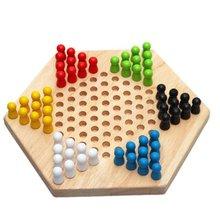 Ensemble de jeu familial de dames изложению en hexagone traditionnel le плюс ноутбуки
