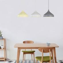 Nordic Modern LED Pendant Lights Lighting Aluminum Pendant Lamp Dining Room Cafe Bar Kitchen Fixtures Indoor Home Deco Luminaire