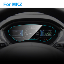 Автомобильная приборная панель протектор экрана для Lincoln MKZ авто Интерьер ТПУ пленка приборной панели мембрана Защитная пленка автомобильные аксессуары