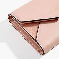 Short Wallet for Women Coin Purse Card Holder Leather Clutch Mini Money Purses X4YB