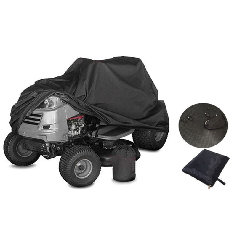 Riding Lawn Mower/ Tractor Cover 210D Waterproof Heavy Duty Durable UV Protection Universal