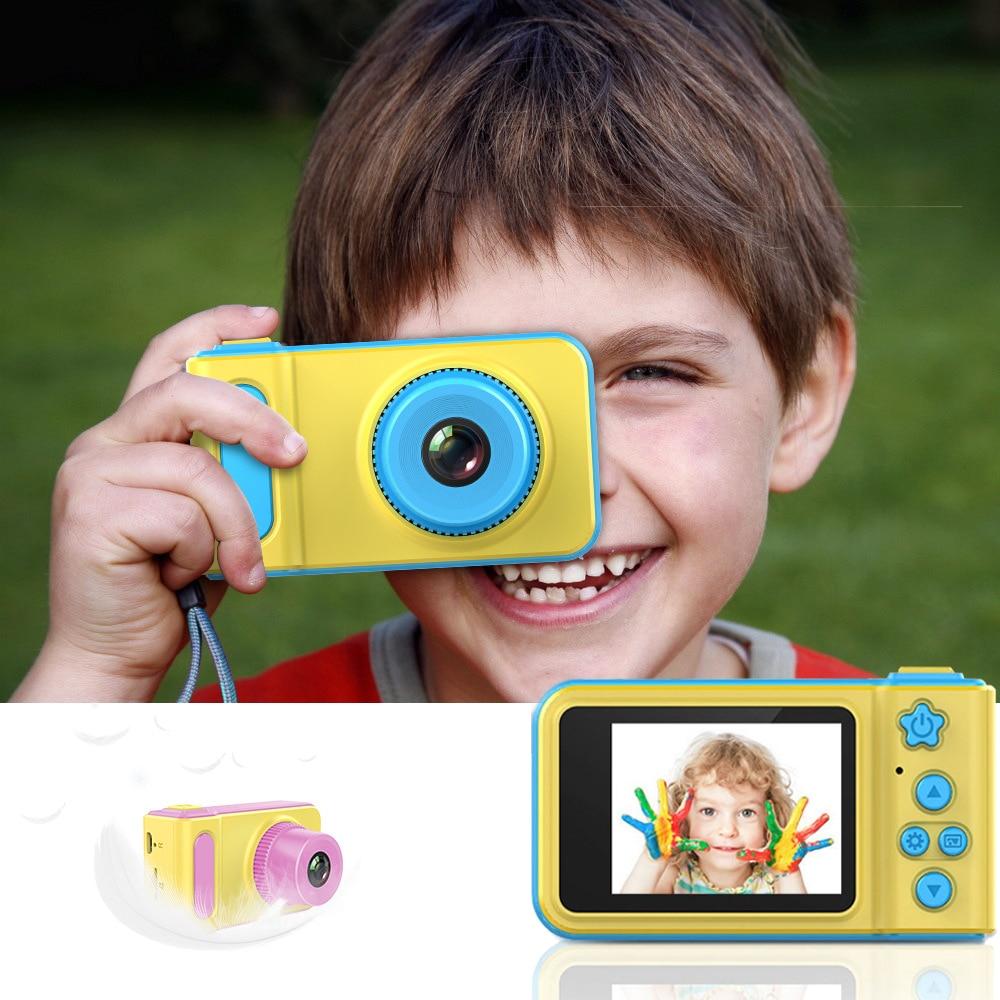 Mini Kids Camera Children Digital Camera Toy 1080p HD Children Cute Eclusive Camera Videotape Game Kids Birthday Gift
